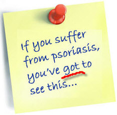 Note to all psoriasis sufferers